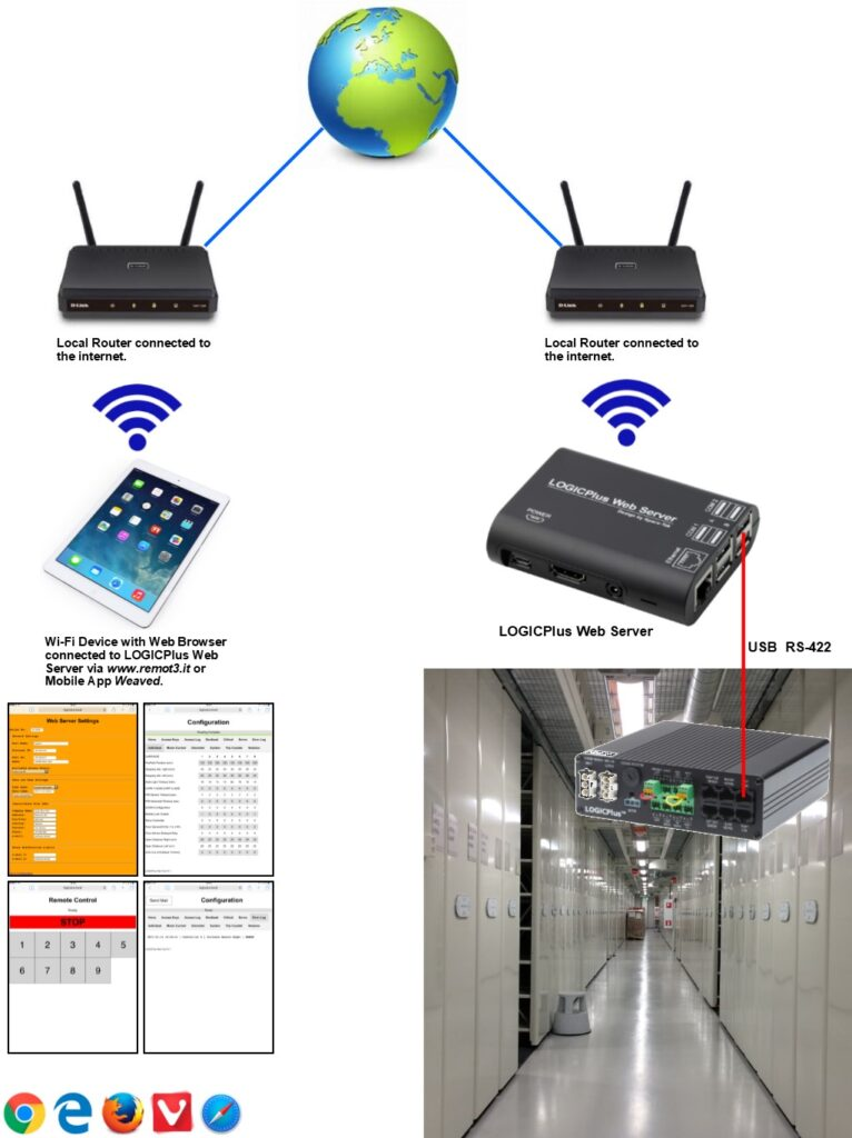 LOGICPlus™ Web Server Configuration